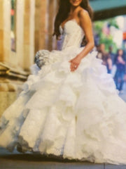 Pnina Tornai Kleinfeld Style 4152 Wedding Dress - Pnina Tonai - Nearly Newlywed Bridal Boutique - 5