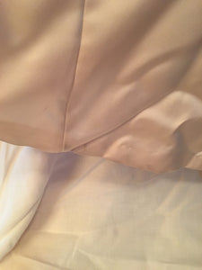 Maggie Sottero 'Strapless Beaded' size 14 used wedding dress view of hem