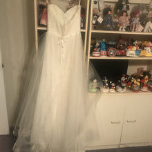 Load image into Gallery viewer, Marisa 'Morilee' size 2 sample wedding dress back view on hanger