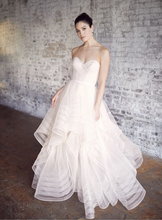 Load image into Gallery viewer, Wtoo 'Garner' size 12 new wedding dress front view on model