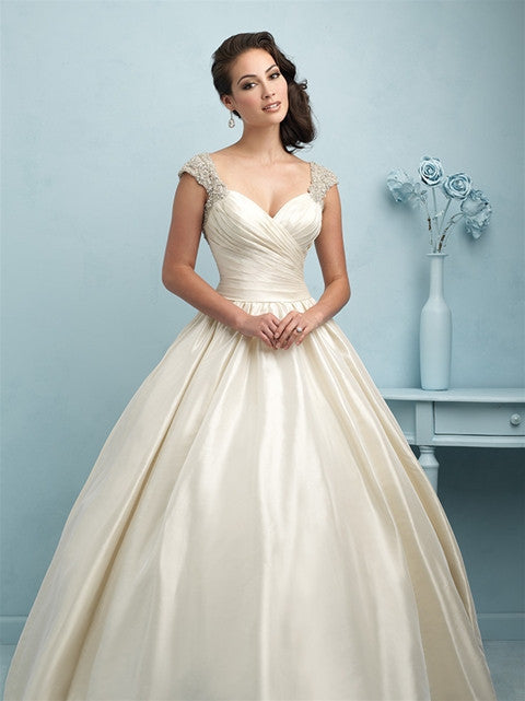 Allure couture 39 9204 39 size 2 new wedding dress nearly for Nearly new wedding dresses