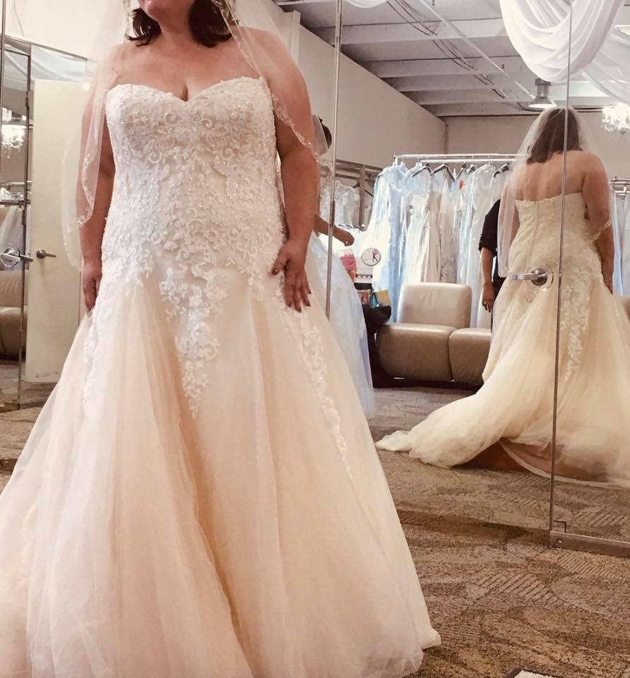 Alfred Angelo '3010' Size 24 New Wedding Dress