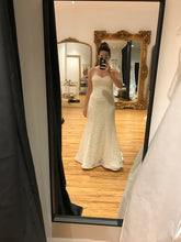 Load image into Gallery viewer, Sareh Nouri 'Marigold' size 12 used wedding dress front view on bride