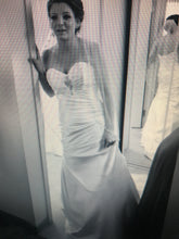 Load image into Gallery viewer, Maggie Sottero 'Couture' size 10 used wedding dress front view on bride