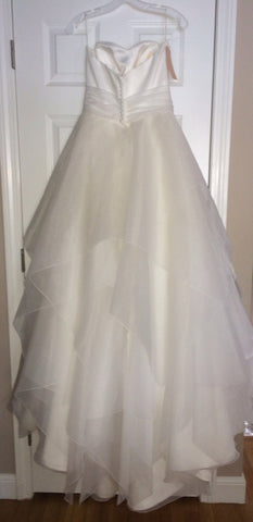 Mikaella Strapless Wedding Dress