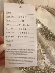 Winnie Couture 'Custom' size 10 new wedding dress view of tag