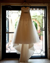 Load image into Gallery viewer, La Sposa '3797783' size 10 used wedding dress front view on hanger