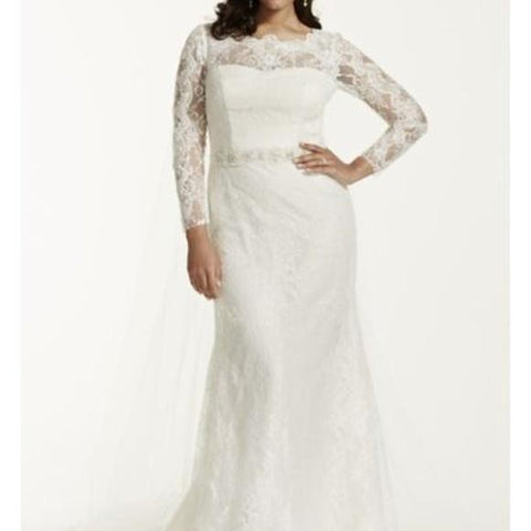 Galina Signature 'Lace Sheath'