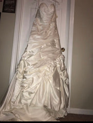 Allure Bridals 'Mermaid' size 14 new wedding dress front view on hanger