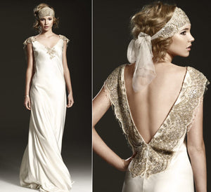 Johanna Johnson 'Susannah' Wedding Dress - Johanna Johnson - Nearly Newlywed Bridal Boutique - 3