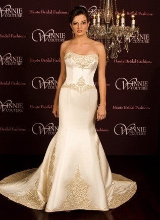Winnie Couture 'Constance' Satin Pearl - Winnie Couture - Nearly Newlywed Bridal Boutique - 4