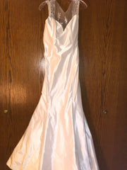 Isabelle Armstrong 'Helena' size 10 new wedding dress front view on hanger