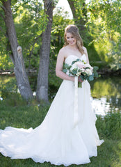 Watters 'Jordana' wedding dress size-04 PREOWNED
