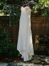Load image into Gallery viewer, Maggie Sottero 'Marigold' size 12 used wedding dress front view on hanger