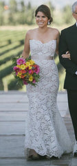 Romona Keveza 'L5130' size 10 used wedding dress front view on bride