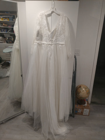 David's Bridal 'Long Sleeved'