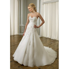 Mori Lee Style 1662 - Mori Lee - Nearly Newlywed Bridal Boutique - 1