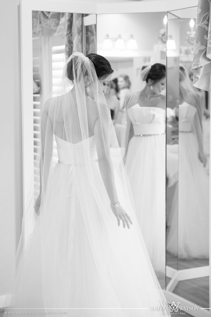 Amsale 'Strapless Parker' - Amsale - Nearly Newlywed Bridal Boutique - 3