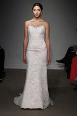 Ulla Maija Aimee Lace Trumpet Wedding Dress - Ulla Maija - Nearly Newlywed Bridal Boutique - 3