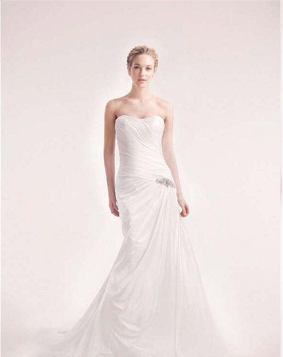Alita Graham 7711 One Shoulder Gown - Alita Graham - Nearly Newlywed Bridal Boutique - 1