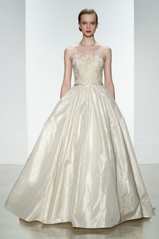 Amsale used and preowned wedding dresses nearly newly wed amsale ryan junglespirit Image collections
