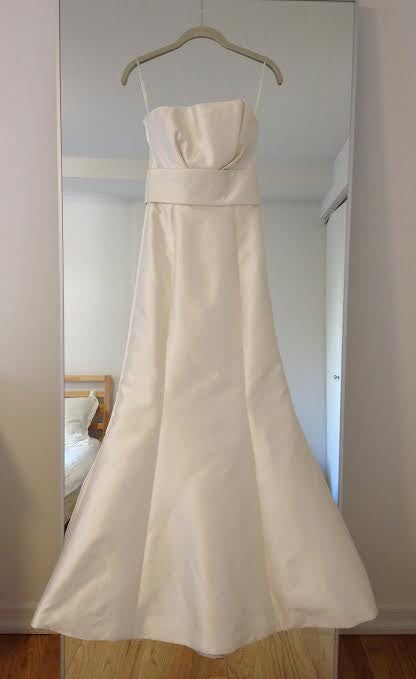 Amsale 'Hampton' Strapless - Amsale - Nearly Newlywed Bridal Boutique - 9