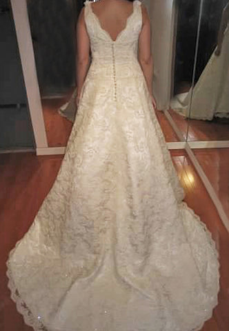 Jim Hjelm 'Custom Inspired Gown'