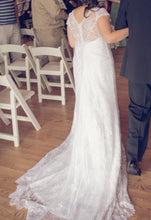 Load image into Gallery viewer, Alfred Angelo 'Lace V Neck' (8501) - alfred angelo - Nearly Newlywed Bridal Boutique - 2