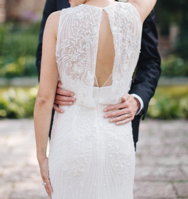 Timeless Wedding Gown: Monique Lhuillier 'Timeless' Size 4 Used Wedding Dress