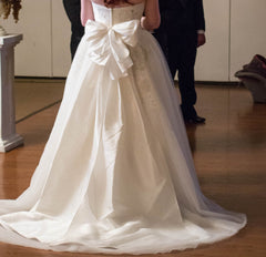 David's Bridal ' Strapless Ball Gown' - David's Bridal - Nearly Newlywed Bridal Boutique - 2