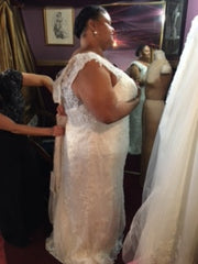 Jasmine Couture 'Nanette Gray' - Jasmine Couture Bridal - Nearly Newlywed Bridal Boutique - 2
