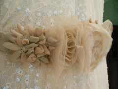 Sleeveless Vera Wang Embellished Wedding Dress - Vera Wang - Nearly Newlywed Bridal Boutique - 3