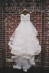 Pnina Tornai 'Sweetheart Ball Gown in Organza' - Pnina Tornai - Nearly Newlywed Bridal Boutique - 2