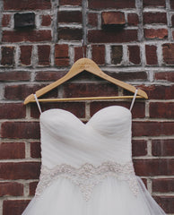 Pnina Tornai 'Sweetheart Ball Gown in Organza' - Pnina Tornai - Nearly Newlywed Bridal Boutique - 3