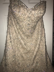 Essence of Australia 'D2195' size 12 used wedding dress front view on hanger