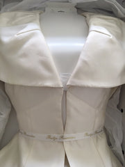 Amanda Wakeley 'Alberta Wedding Coat' - Amanda Wakeley - Nearly Newlywed Bridal Boutique - 4