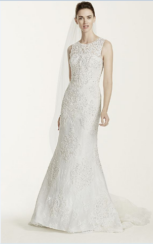 Oleg Cassini 'Tank Illusion Back'
