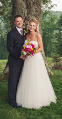 Christos 'Desiree' Ball Gown - Christos - Nearly Newlywed Bridal Boutique - 4