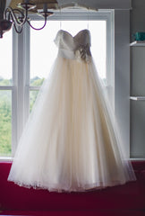 Christos 'Desiree' Ball Gown - Christos - Nearly Newlywed Bridal Boutique - 2
