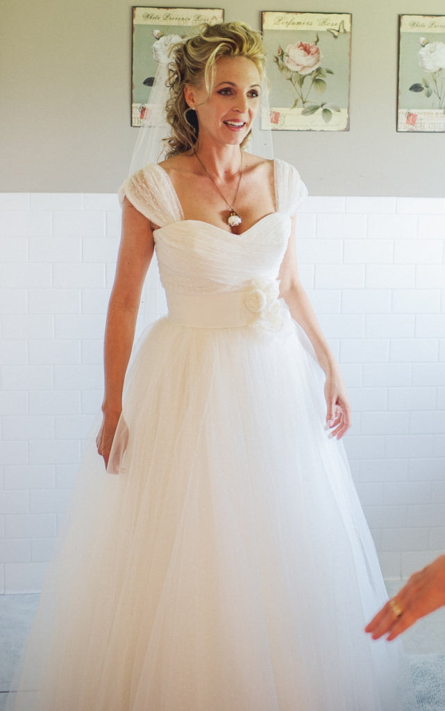 Christos 'Desiree' Ball Gown - Christos - Nearly Newlywed Bridal Boutique - 1
