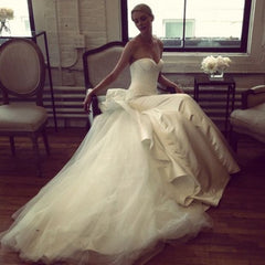 Zac Posen 'Strapless Duchess' - zac posen - Nearly Newlywed Bridal Boutique - 1