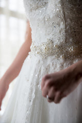 Custom 'Lace' - Customed Designed - Nearly Newlywed Bridal Boutique - 2
