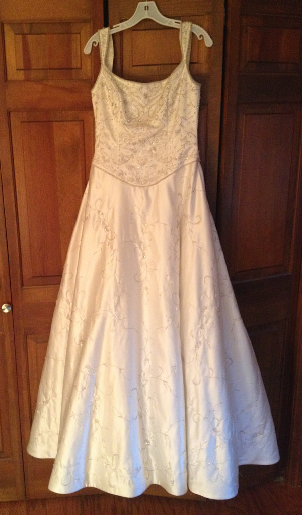 Demetrios 'Beaded Dress' - Demetrios - Nearly Newlywed Bridal Boutique - 1