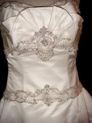 Kenneth Pool Majesty Ball Gown - Kenneth Pool - Nearly Newlywed Bridal Boutique - 3