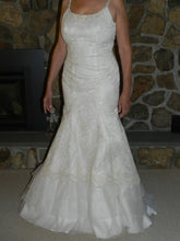 Load image into Gallery viewer, Agnes 'Lace and Satin' - Agnes - Nearly Newlywed Bridal Boutique - 1