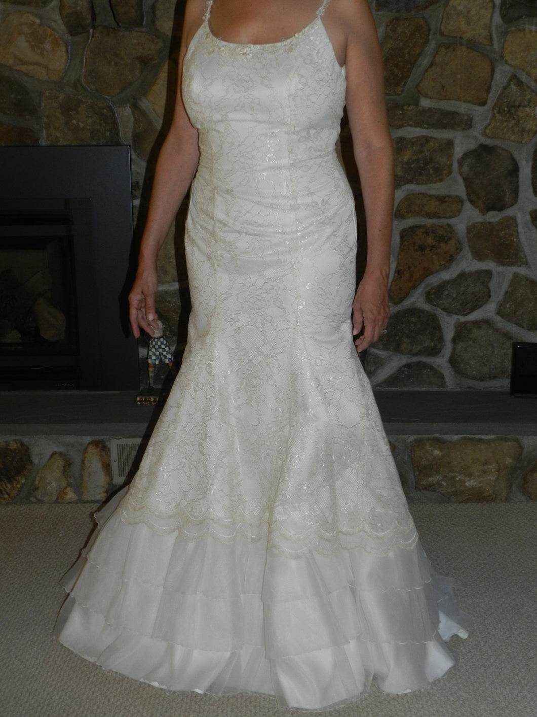 Agnes 'Lace and Satin' - Agnes - Nearly Newlywed Bridal Boutique - 1