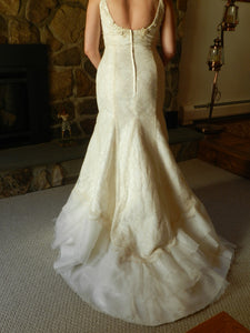 Agnes 'Lace and Satin' - Agnes - Nearly Newlywed Bridal Boutique - 2