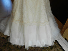 Agnes 'Lace and Satin' - Agnes - Nearly Newlywed Bridal Boutique - 4