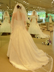 Demetrios 'Rich Eternity' - Demetrios - Nearly Newlywed Bridal Boutique - 1