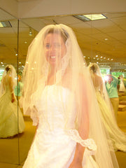 Demetrios 'Rich Eternity' - Demetrios - Nearly Newlywed Bridal Boutique - 2